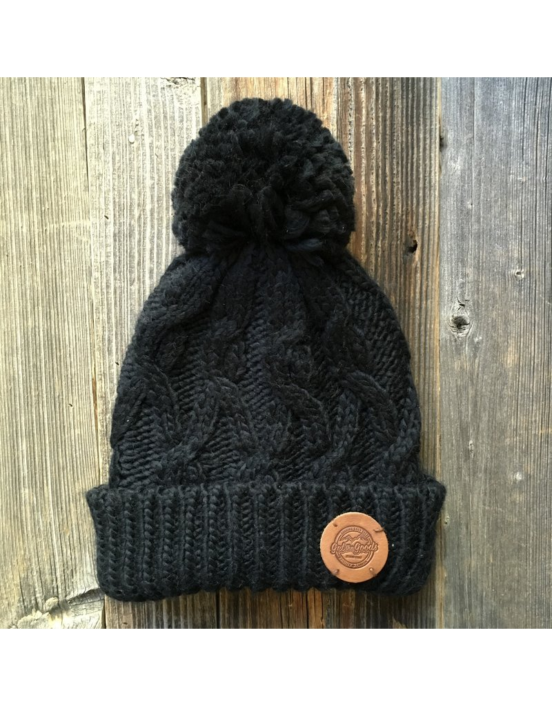 Get the Goods Get the Goods Cable Cuff Ribbed Beanies