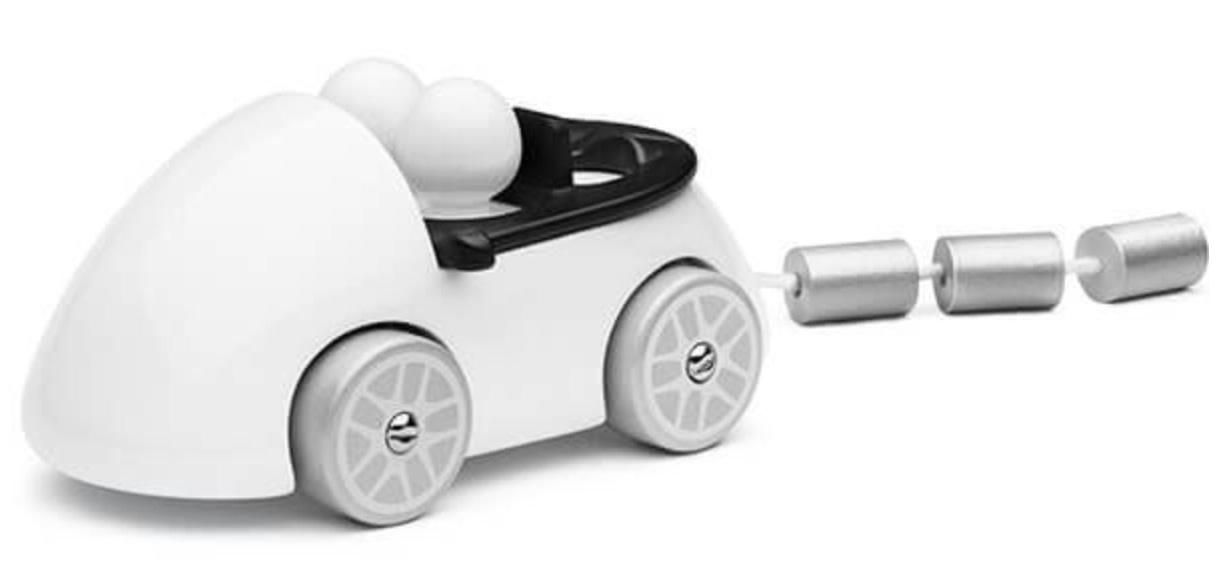 Playsam Wedding Car