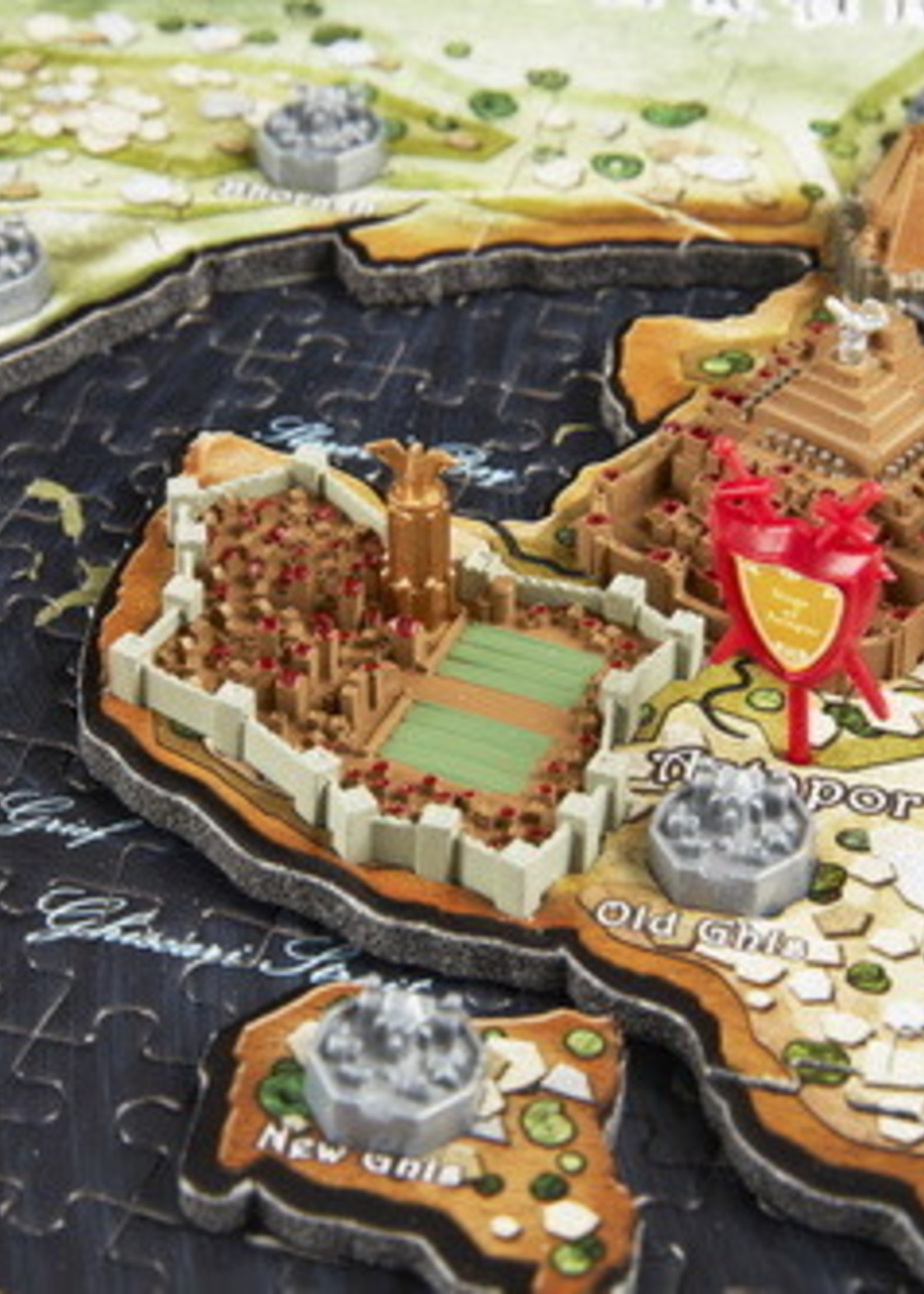 Cityscapes Puzzles 4D Cityscape Puzzles - Game of Thrones: Essos