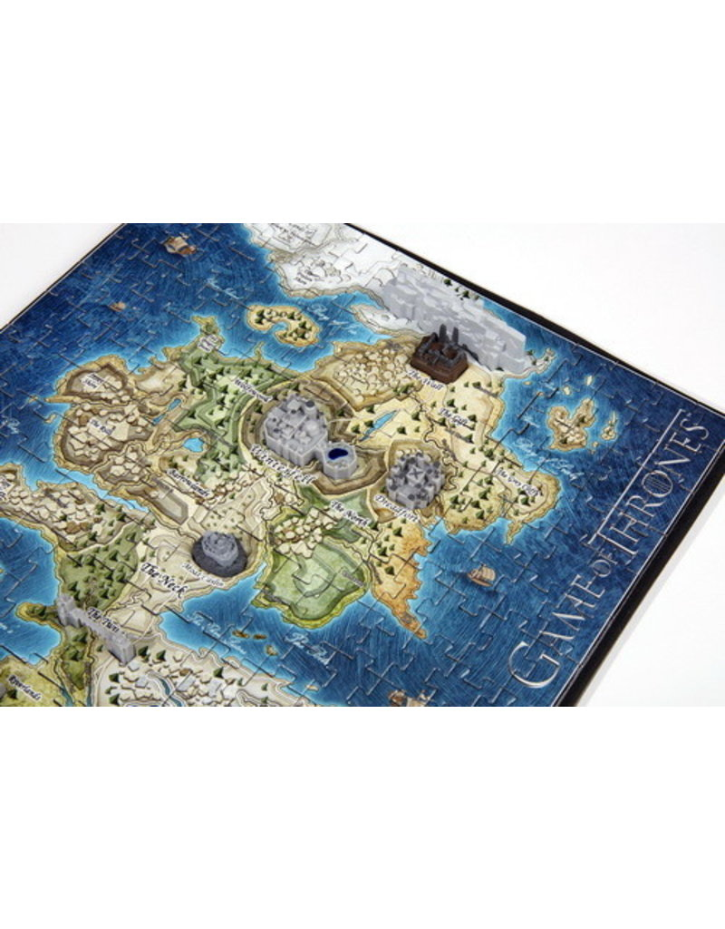 Cityscapes Puzzles 4D Cityscape Puzzles - Mini Game of Thrones: Westeros