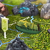 4D Cityscape Puzzles - The Hobbit: Middle Earth