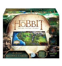 Cityscapes Puzzles 4D Cityscape Puzzles - The Hobbit: Middle Earth