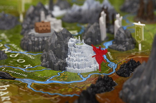 4D Cityscape Puzzles - The Lord of the Rings: Middle Earth