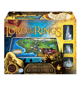 Cityscapes Puzzles 4D Cityscape Puzzles - The Lord of the Rings: Middle Earth