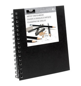 Royal Langnickel Royal & Langnickel Sketchbook Small - Black Cover