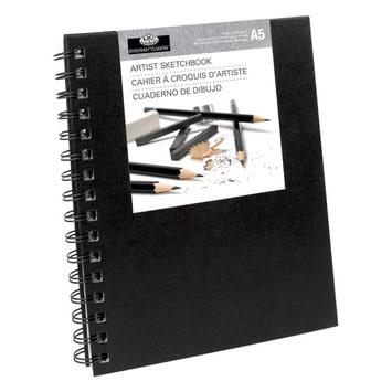 Royal & Langnickel Sketchbook Small - Black Cover