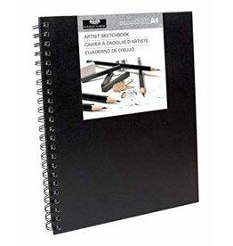 Royal Langnickel Royal & Langnickel Sketchbook Large - Black Cover