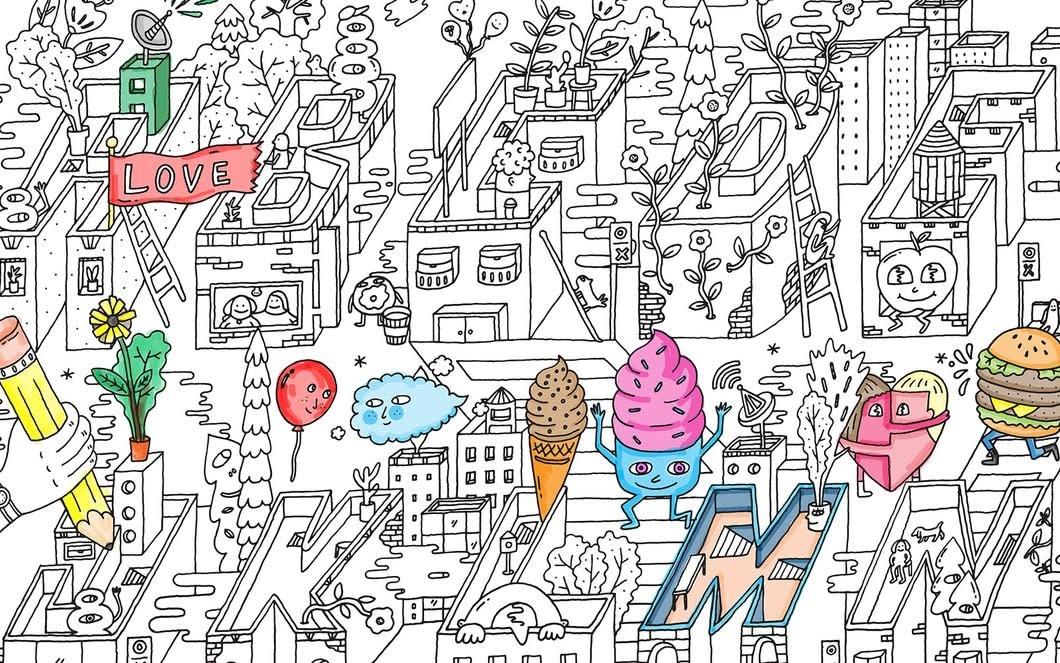 Pirasta Big Coloring Poster
