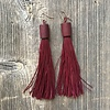 Beautiful Hands Fringe Earrings Long