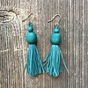 Beautiful Hands Fringe Earrings Short
