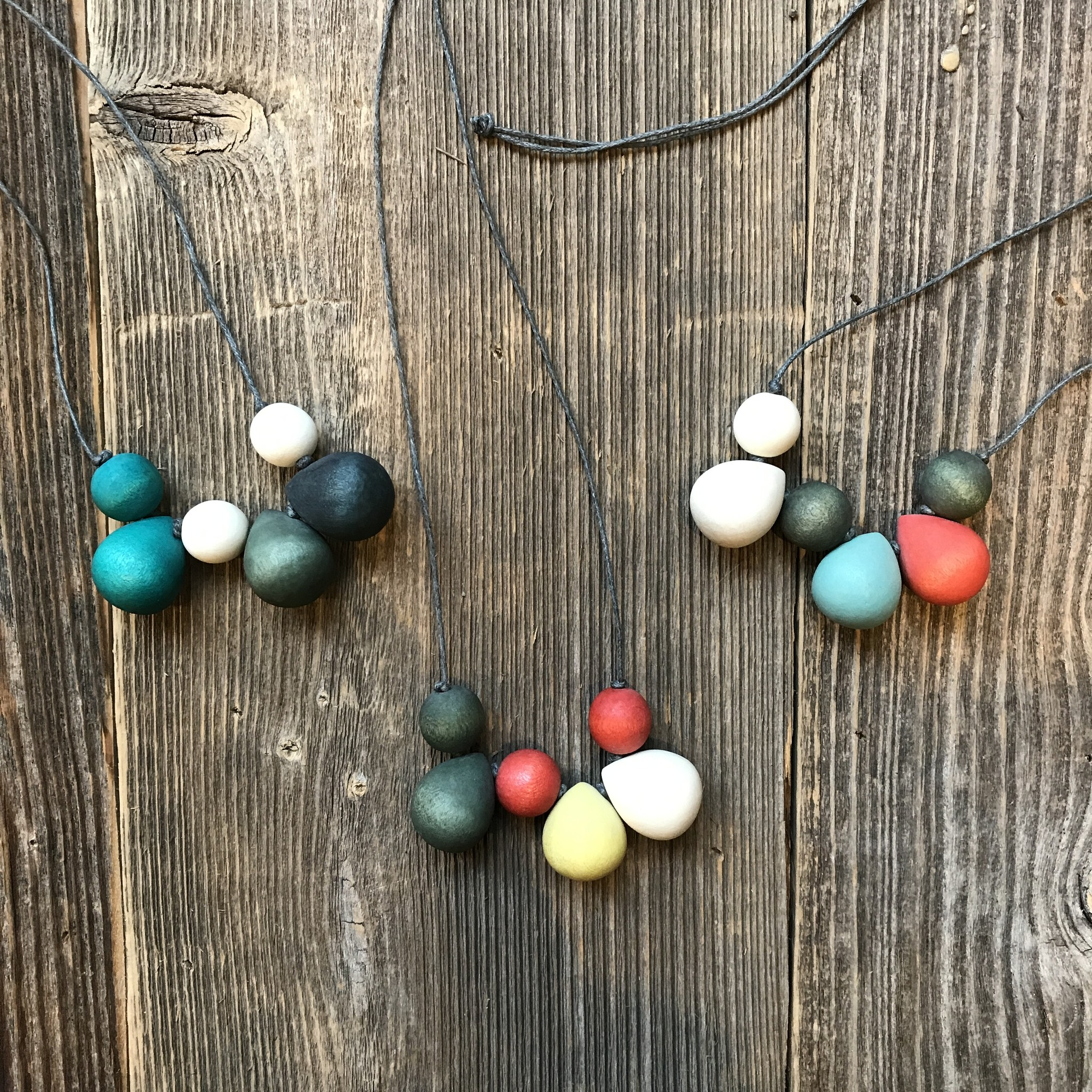 Beautiful Hands Bubble Necklace