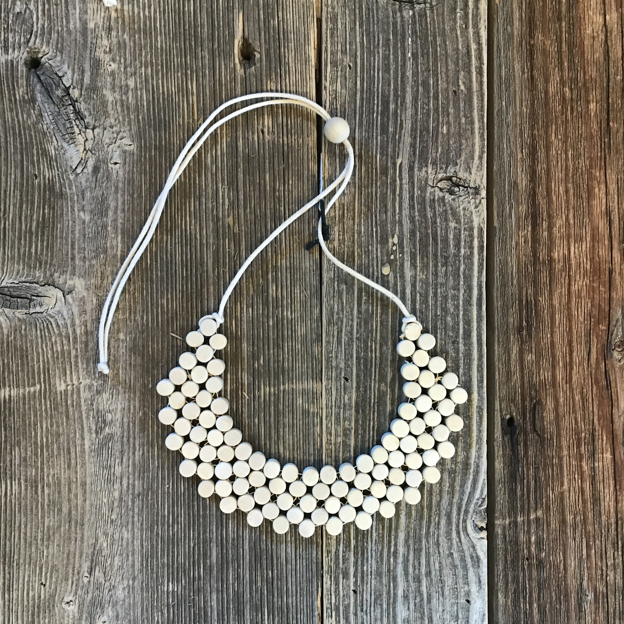 Beautiful Hands Dotbib Necklace Short