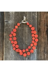 Beautiful Hands Beautiful Hands Circle Necklace Wood 2-rows