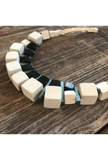 Beautiful Hands Beautiful Hands Neptune Necklace Block White Mix