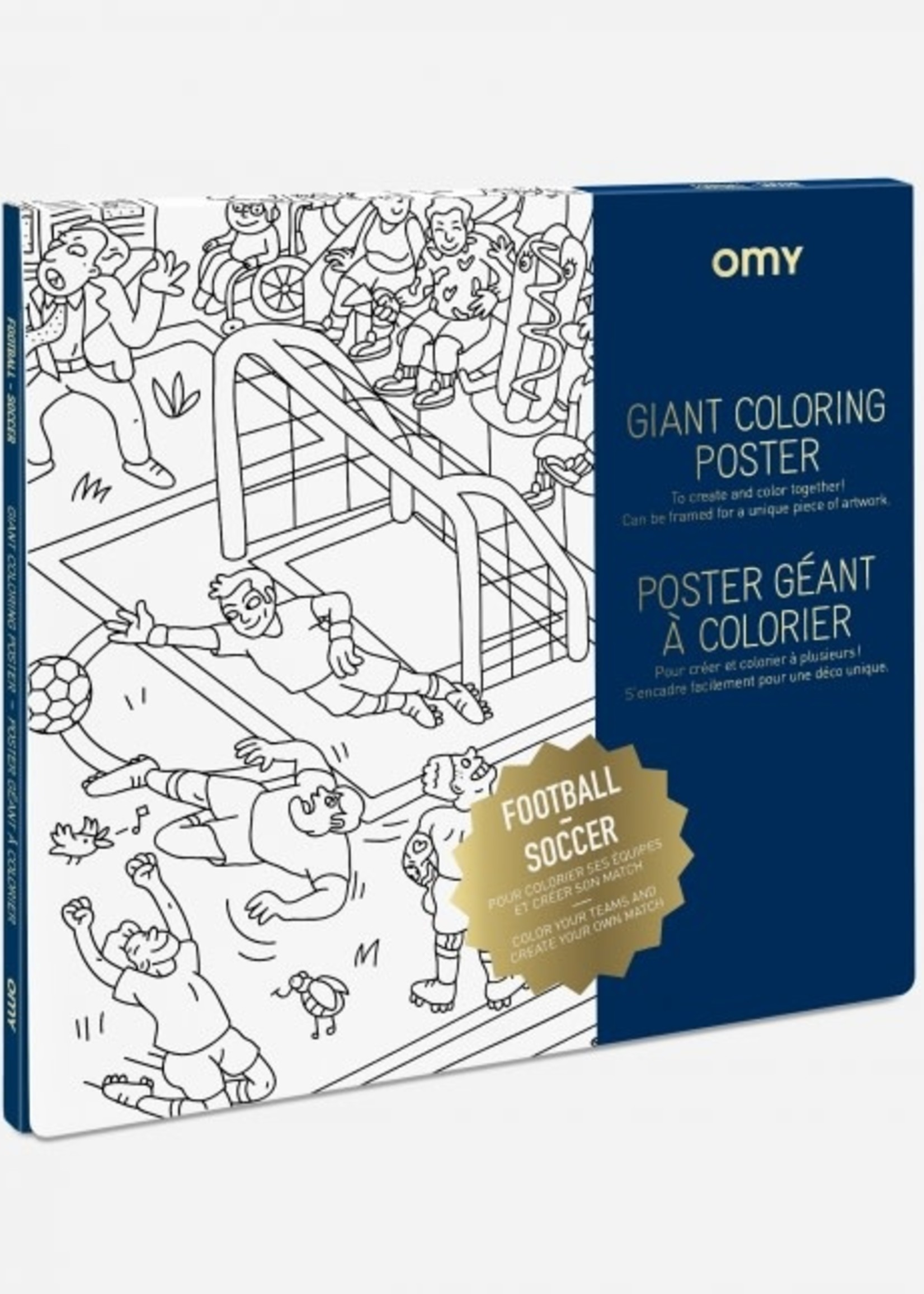 OMY OMY Colouring Poster