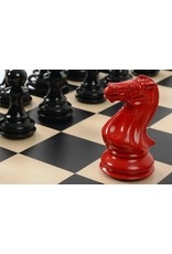 Purling London Purling London Bold Chess Natural Maple: Classic Red v. Shadow Black