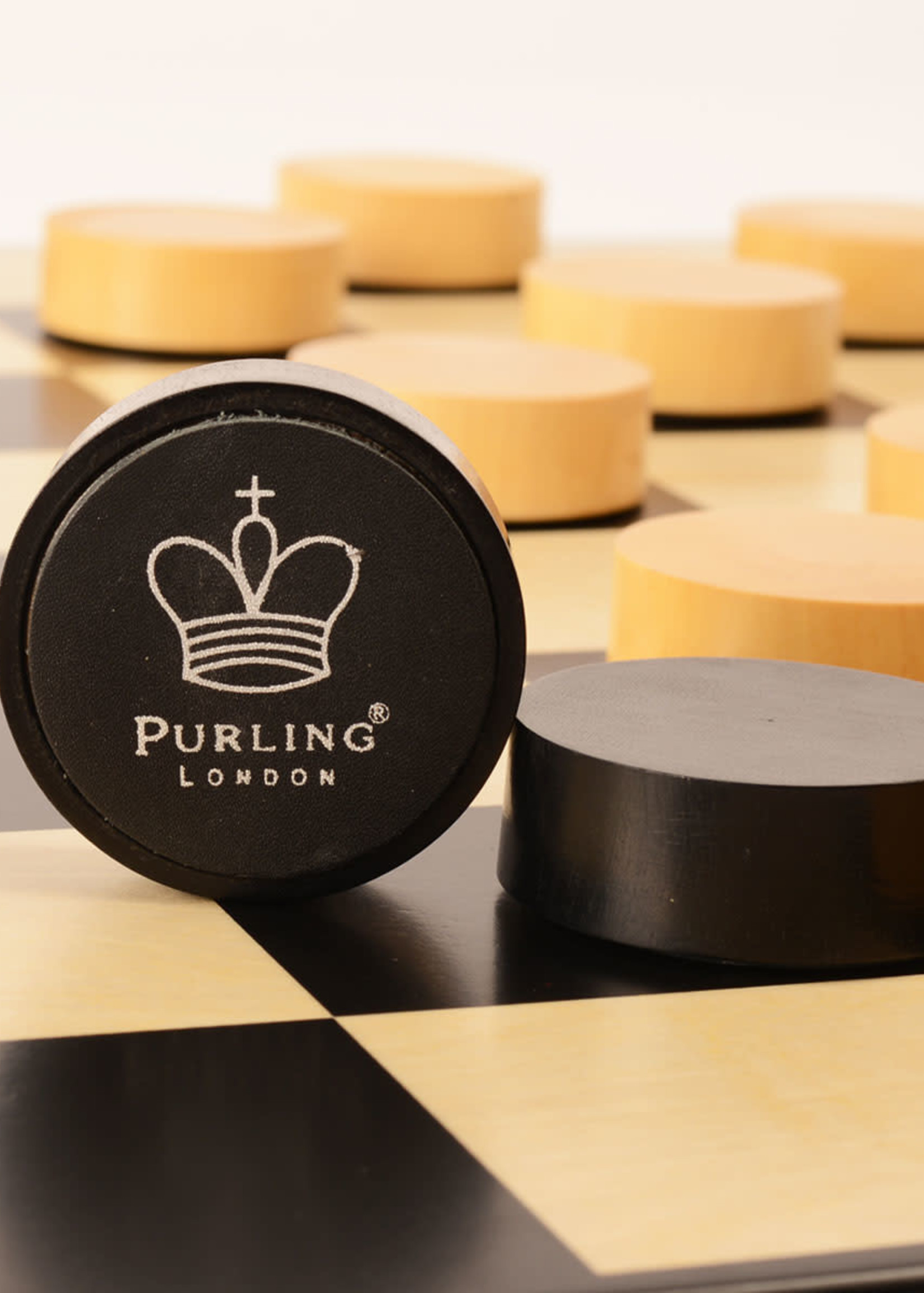 Purling London Purling London Checkers pieces upgrade Gold Black