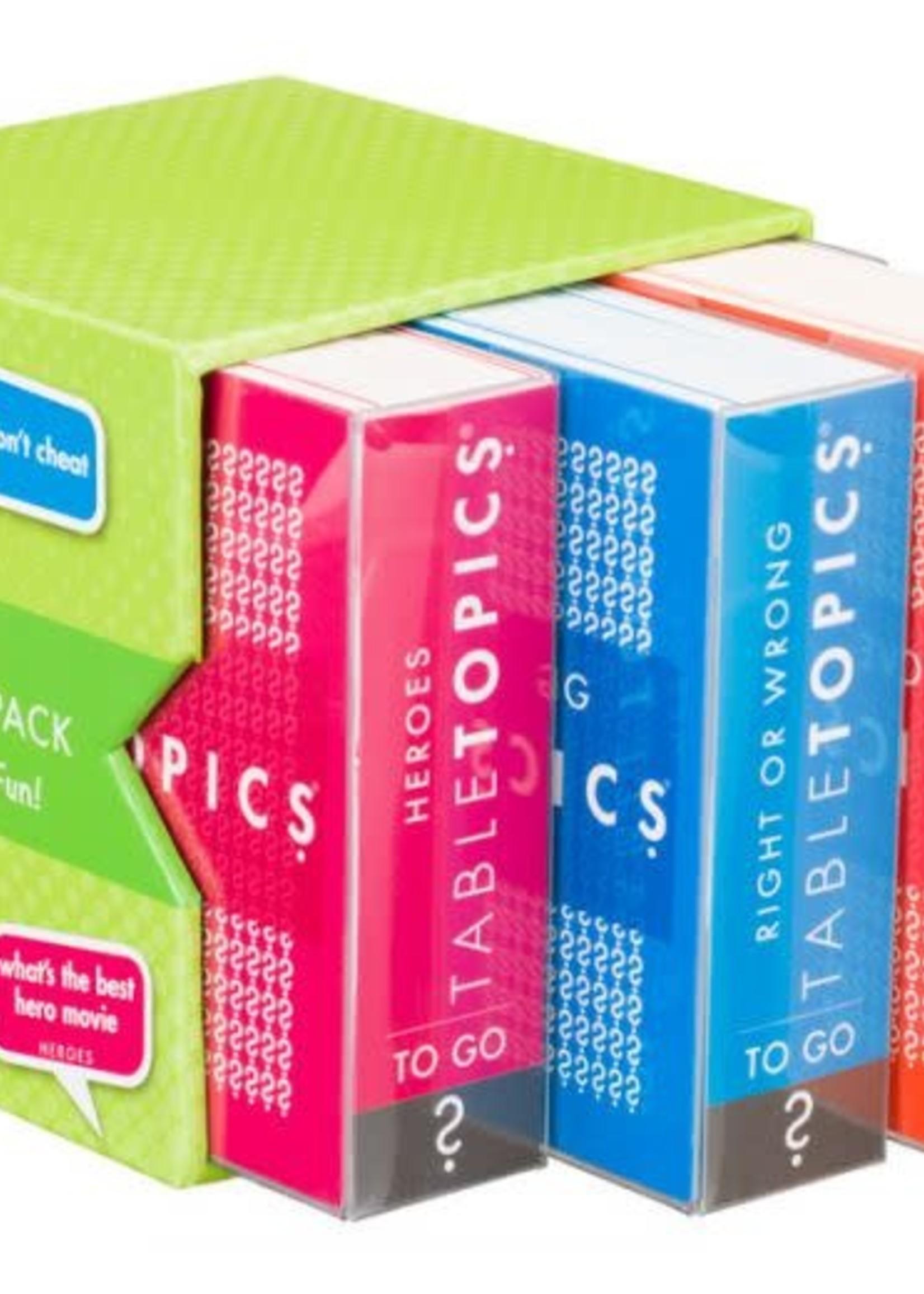 TabelTopics TableTopics: Travel Size Trio