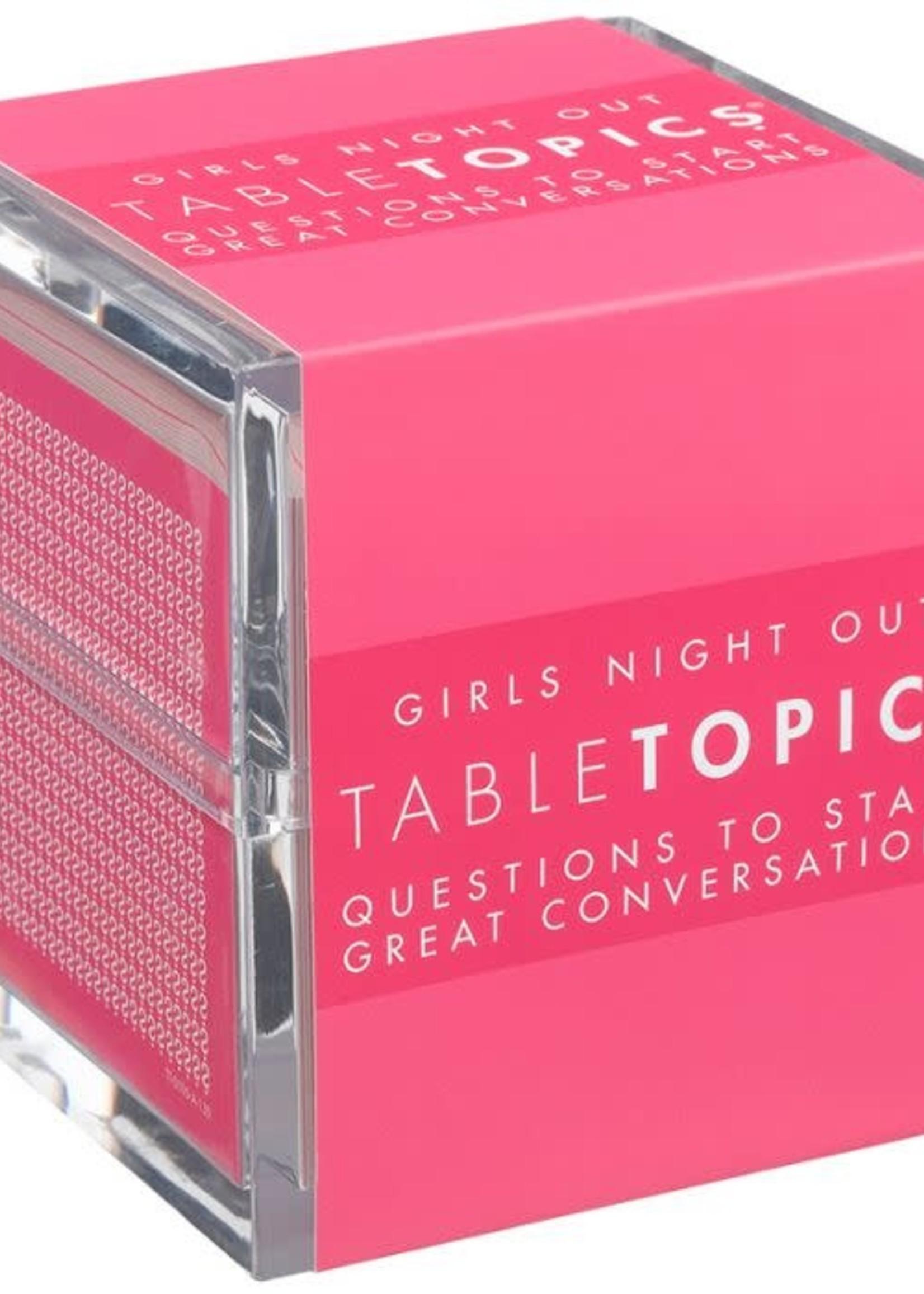 TabelTopics TableTopics: