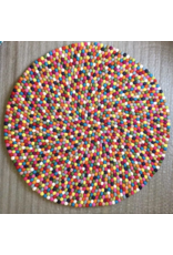 All Things Felt All Things Felt 120cm Skittles Rug