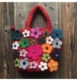 All Things Felt All Things Felt Small Floral Bag