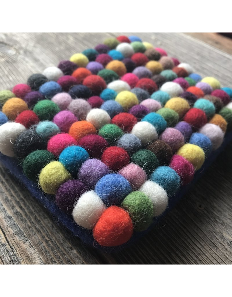 All Things Felt All Things Felt Small Ball Coin Purse