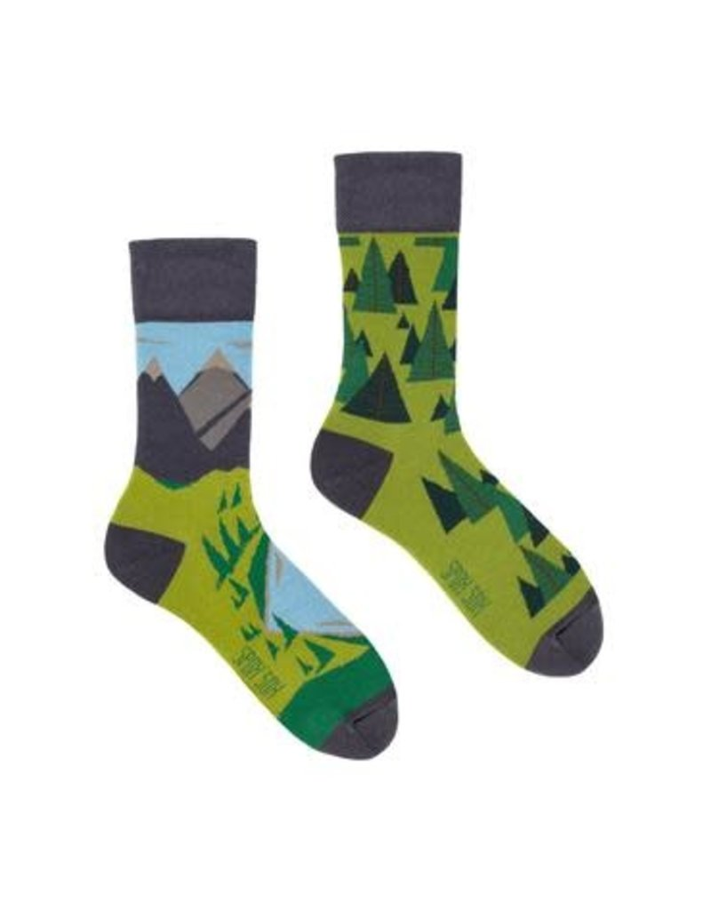 King Stone King Stone Socks Mountains