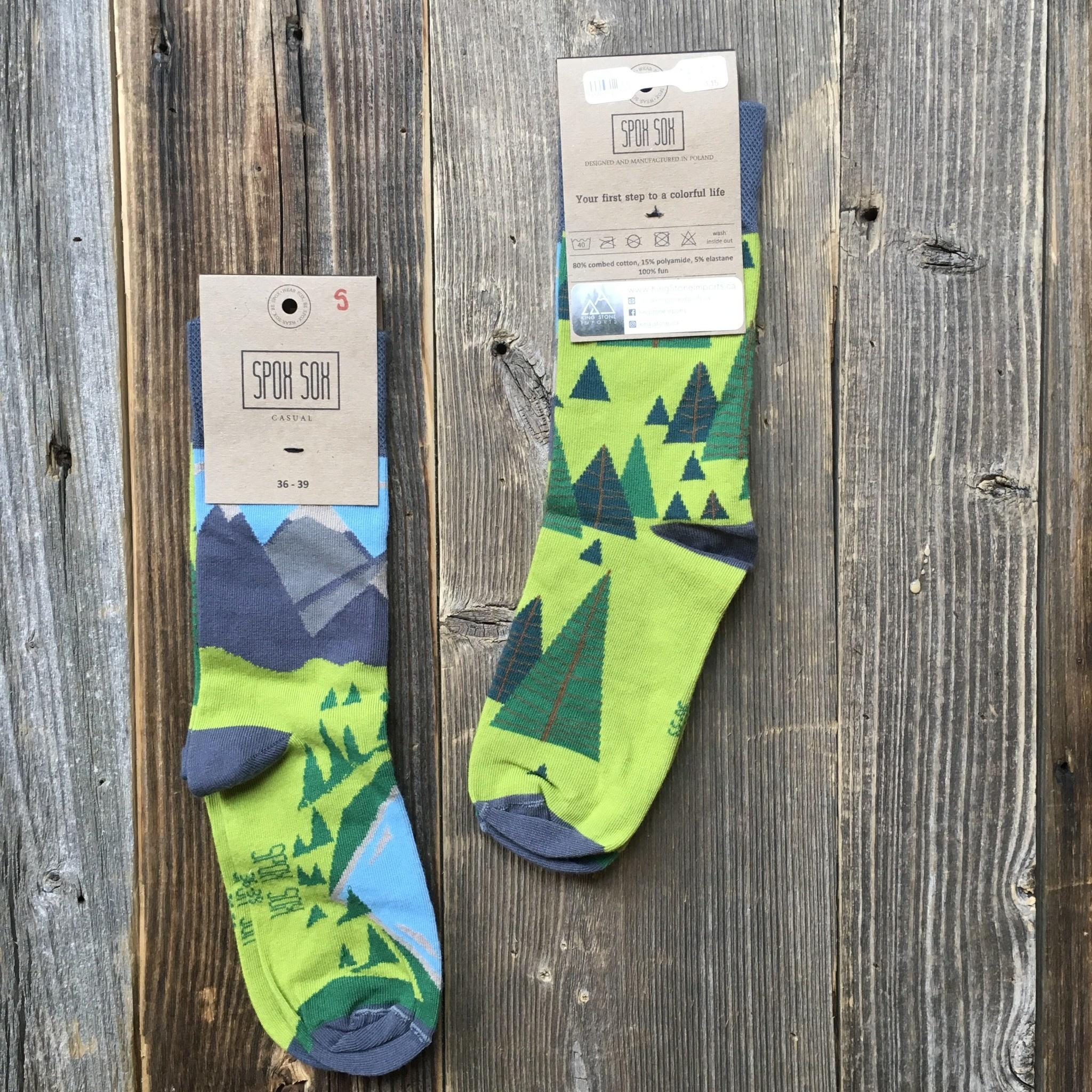 King Stone Socks Mountains