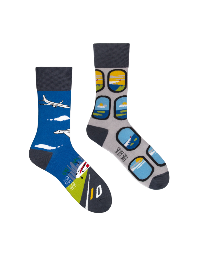 King Stone King Stone Socks Airplanes