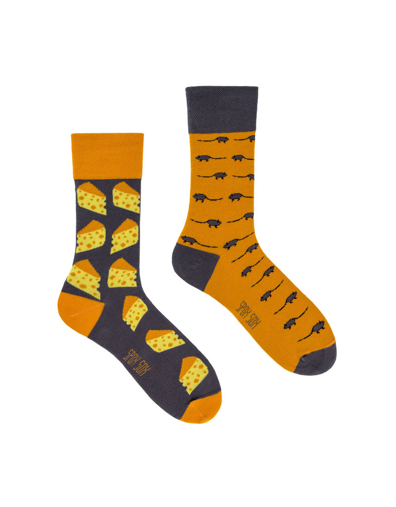 King Stone King Stone Socks Mouse & Cheese