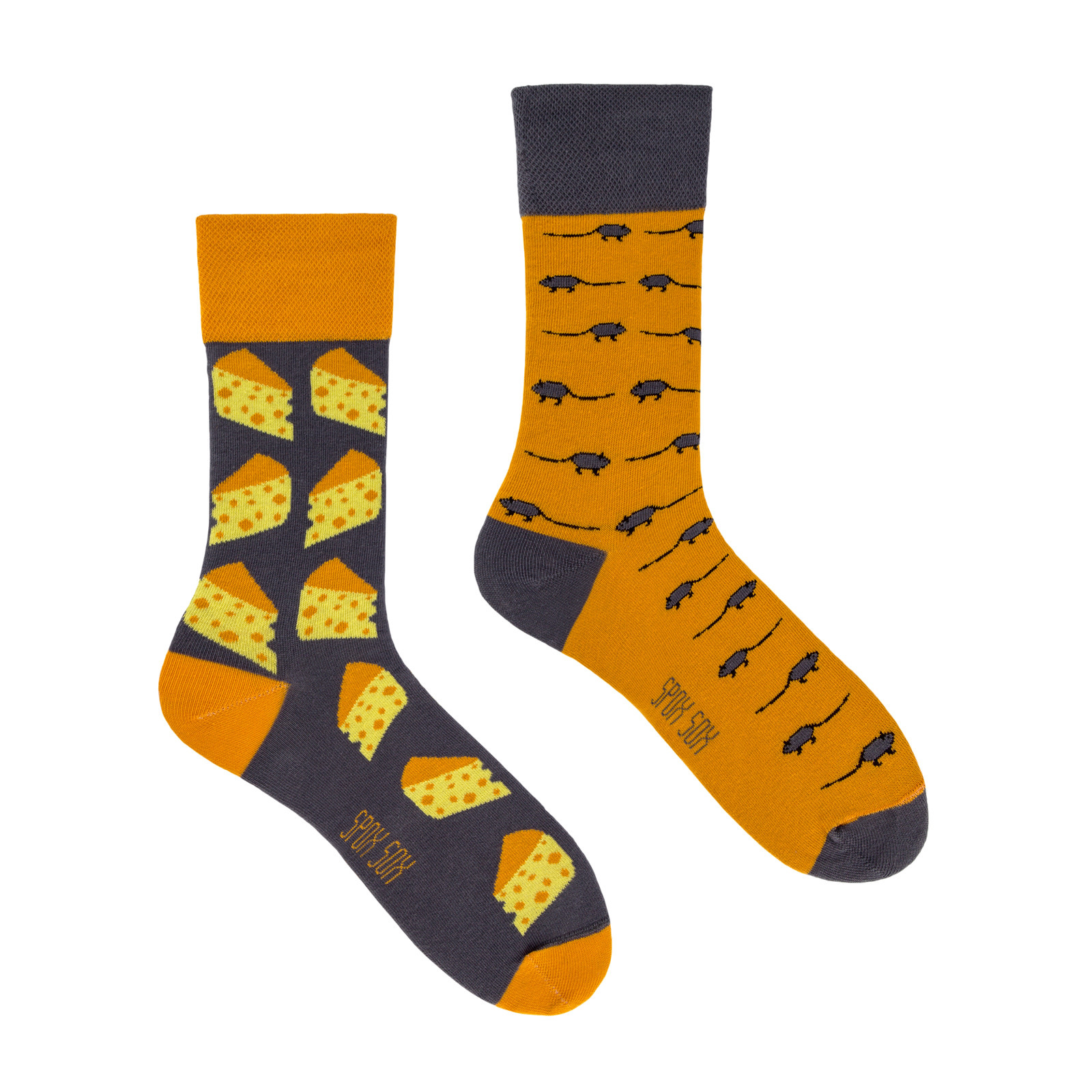 King Stone Socks Mouse & Cheese