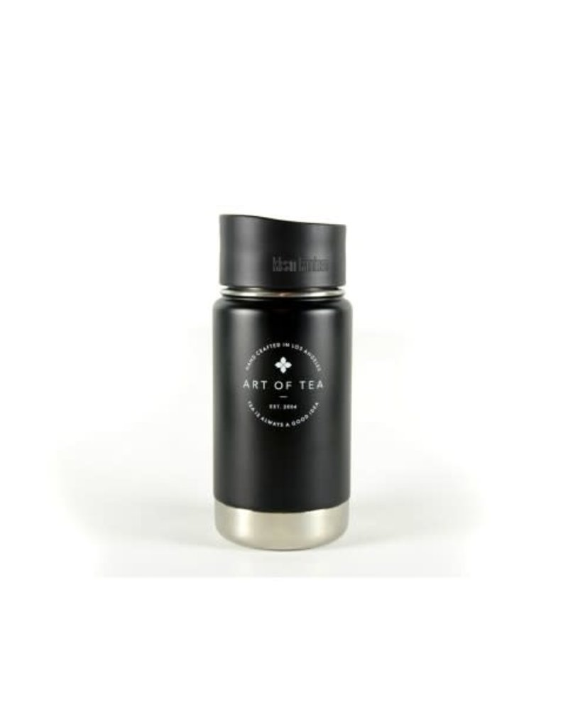 Art of Tea Art of Tea 12oz Kanteen- Matte Black with Art of Tea Logo