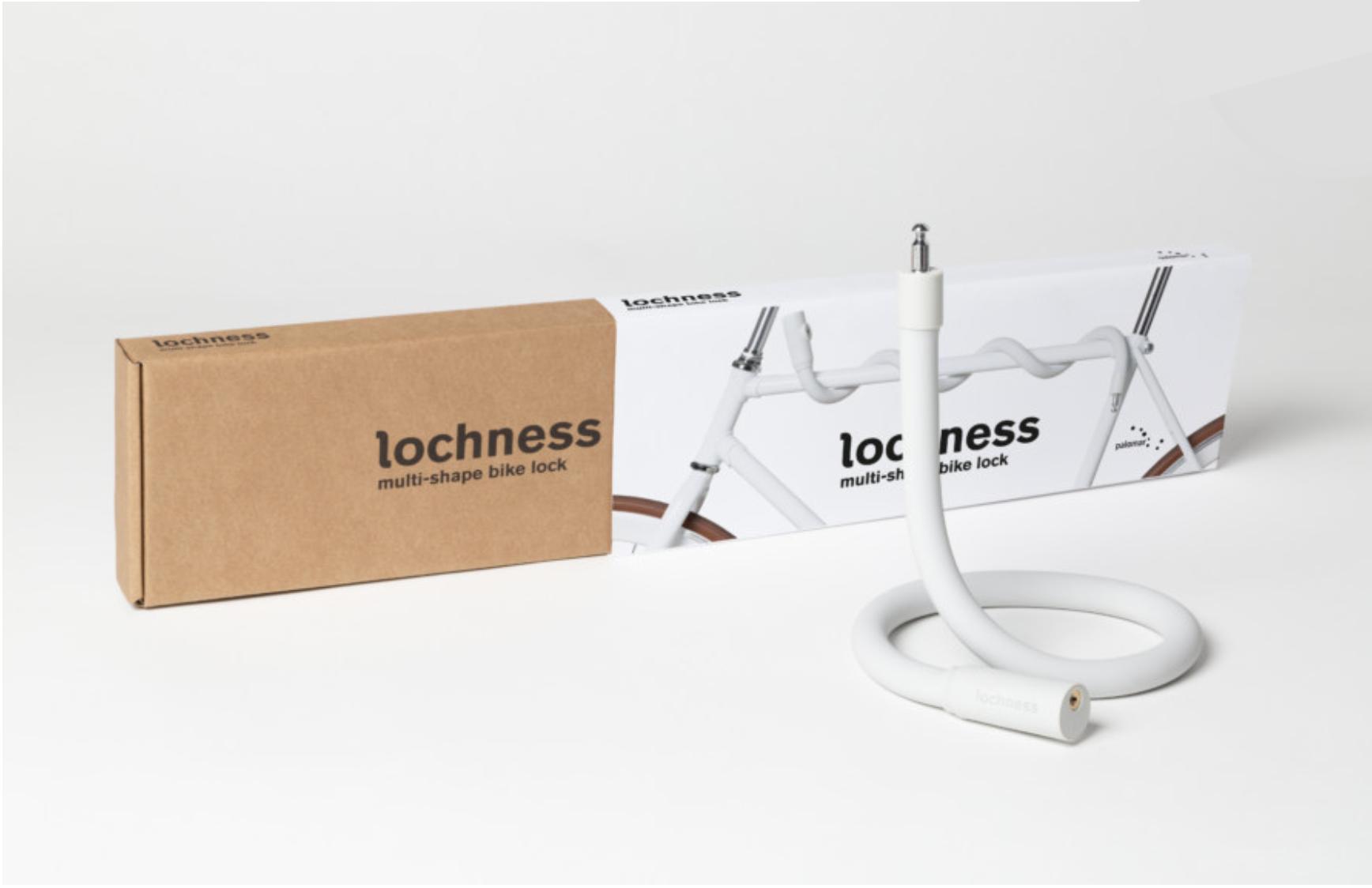 Palomar Lochness Bike Lock - Ivory