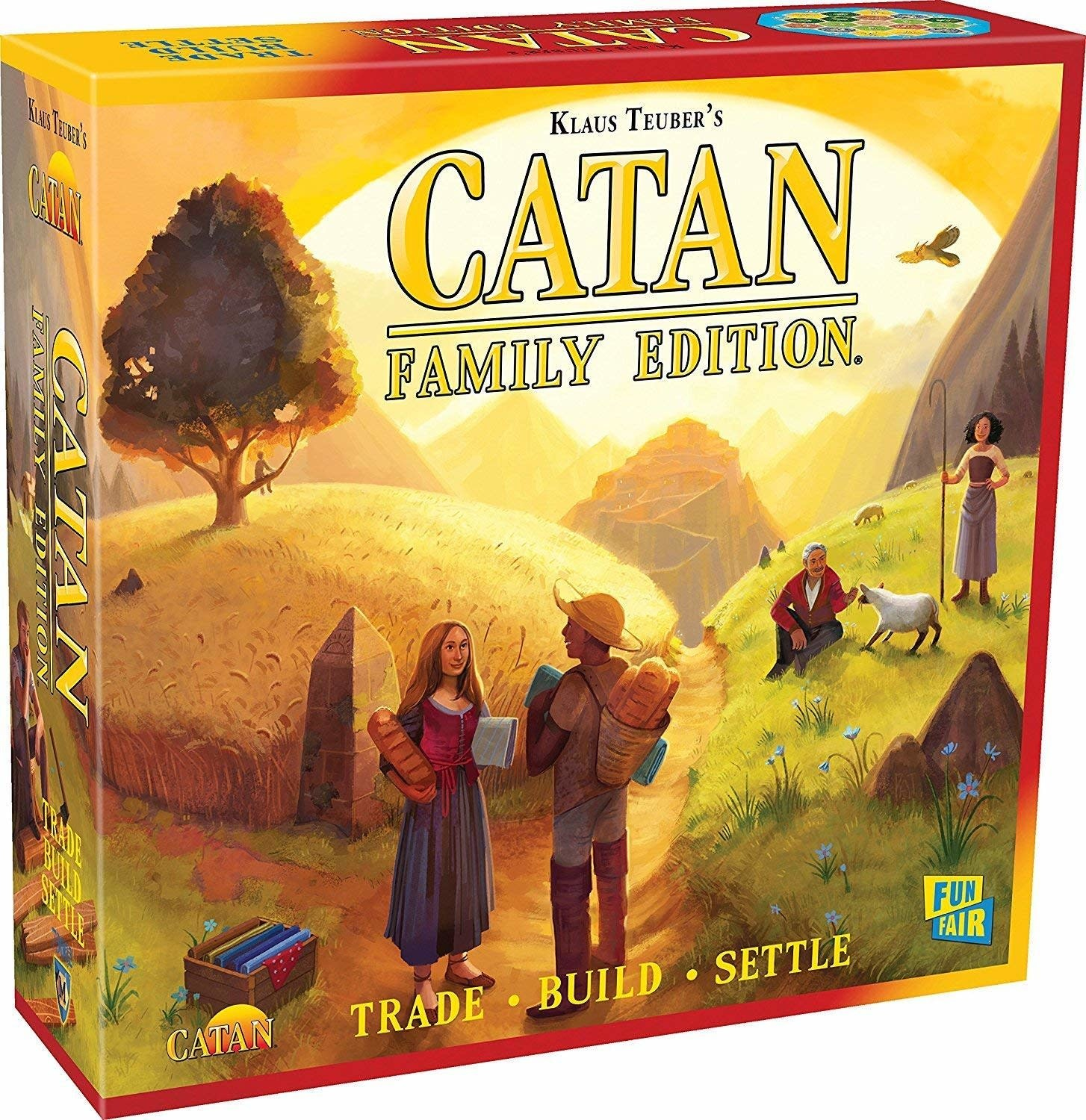 Lion Catan: Family Edition