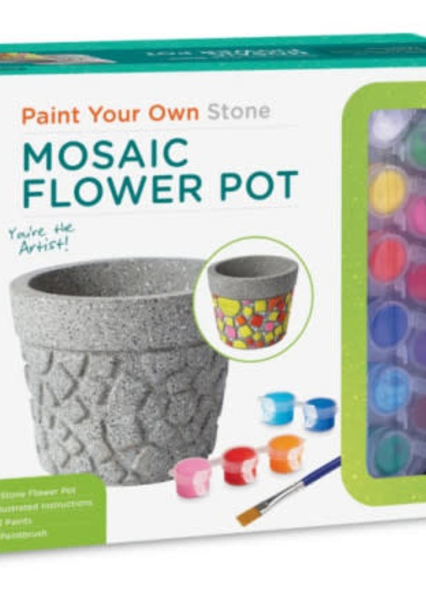 Mindware Mindware Paint Your Own Stone: Flower Pot