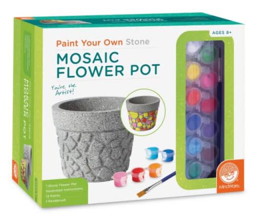 Mindware Paint Your Own Stone: Flower Pot