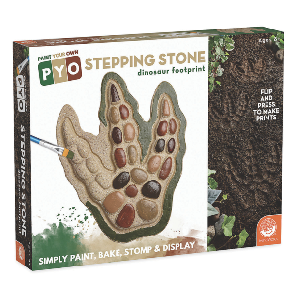 Mindware Mindware Paint Your Own Stepping Stone: Dinosaur