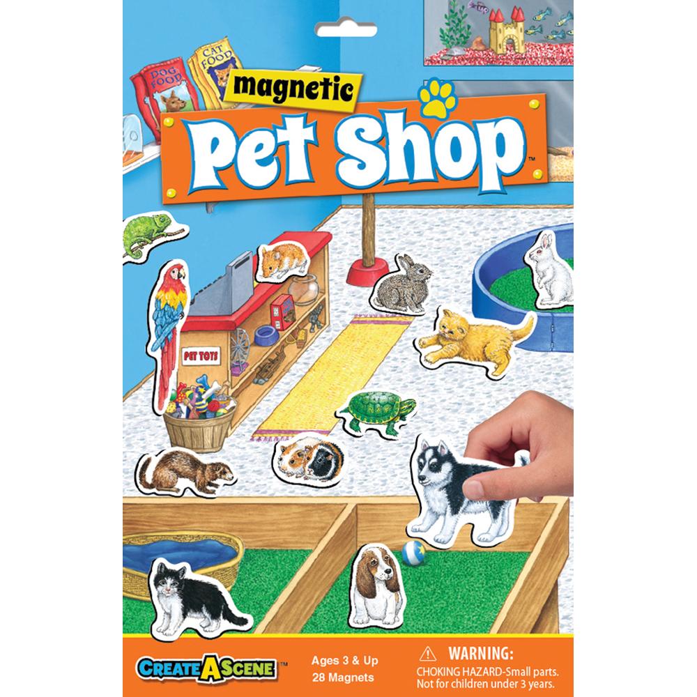 Playmonster Magnetic Pet Shop