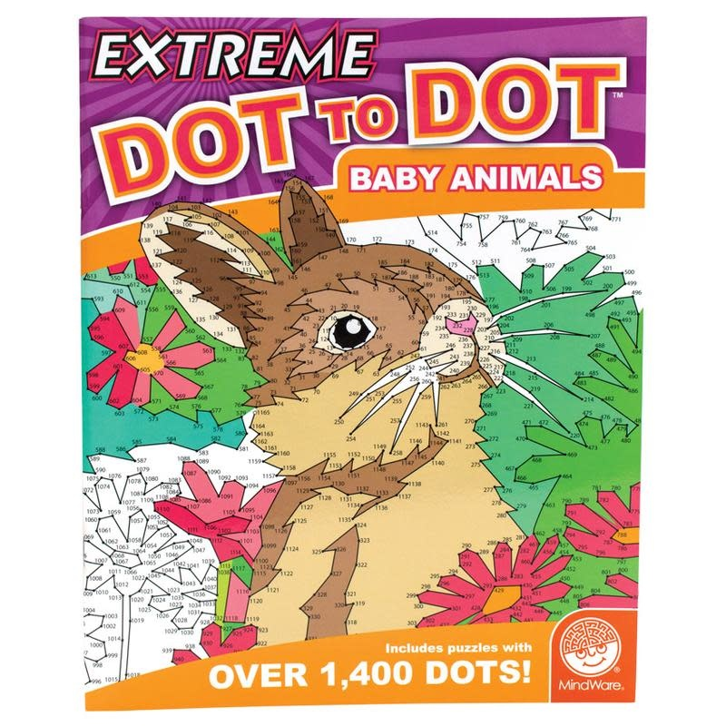 Mindware Extreme Dot to Dot: Baby Animals