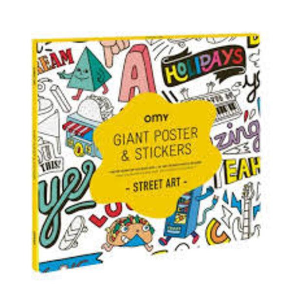 OMY OMY Giant Poster Street Art