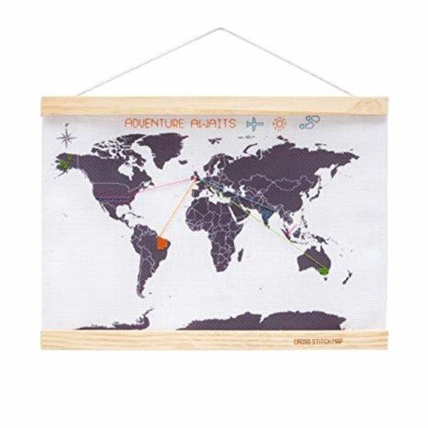 Suck UK Suck UK Stitch World Map