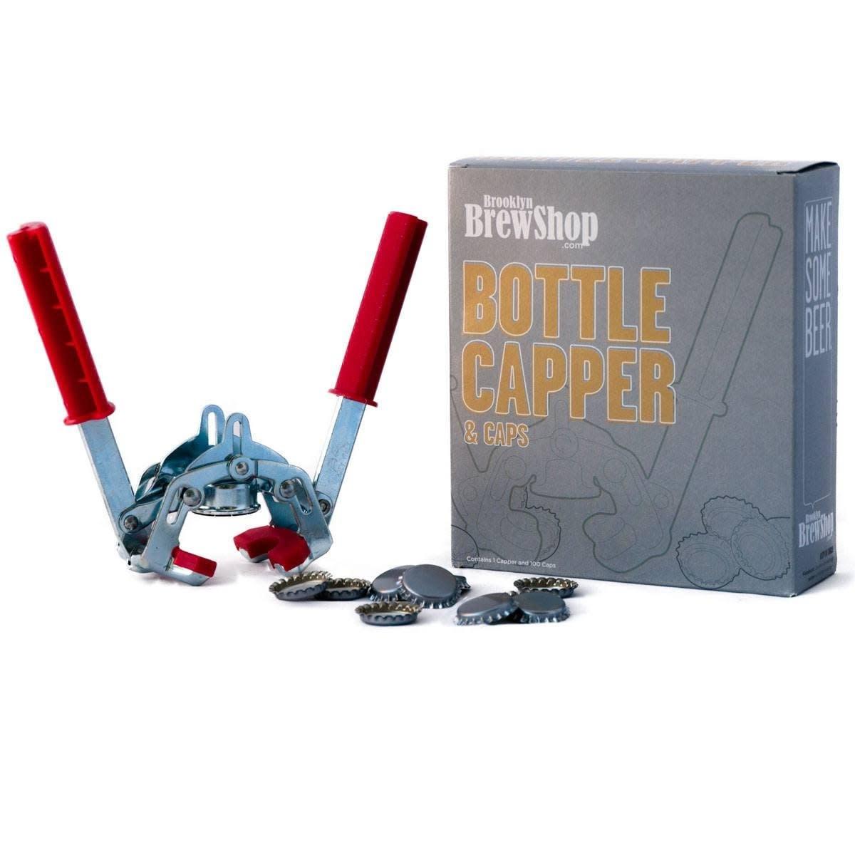 Brooklyn Brew Shop Bottle Capper and Caps