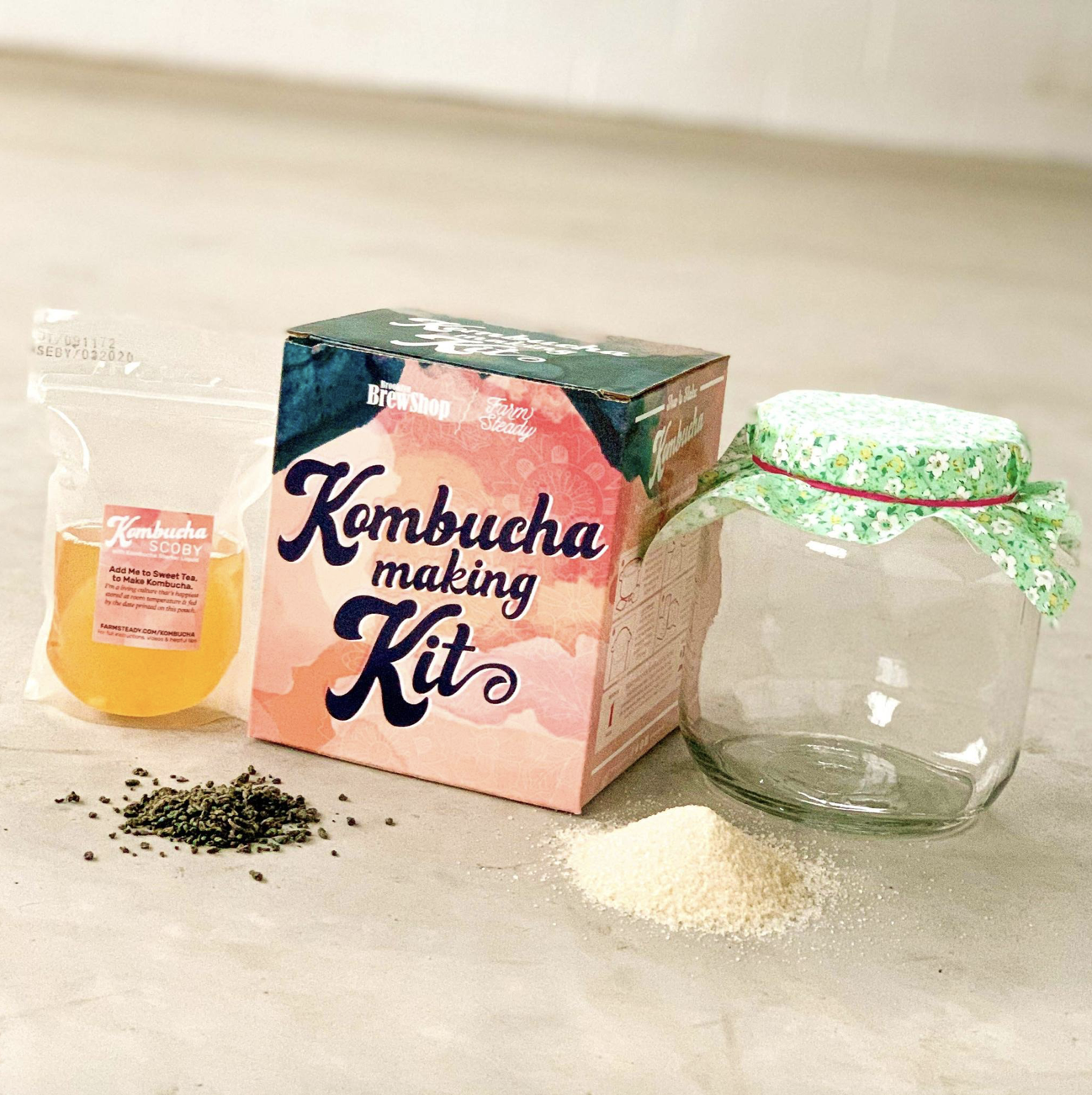 FarmSteady Kombucha Making Kit