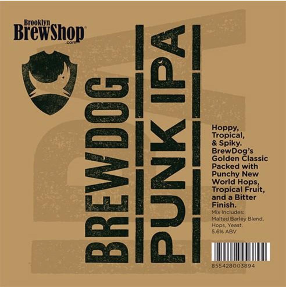 Brooklyn Brew Shop Brew Dog Punk IPA Mix