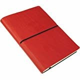 Ciak Sketchbook 6x8 Red, White Unlined Pages
