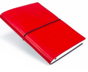 Ciak Journal 5x7 Red, Ivory Pages