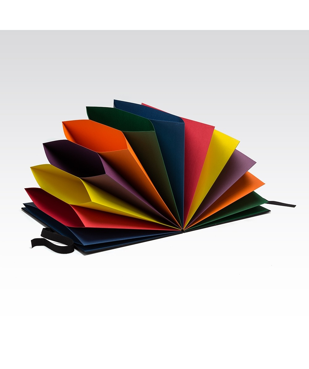 Fabriano Multicolored Folder - Black