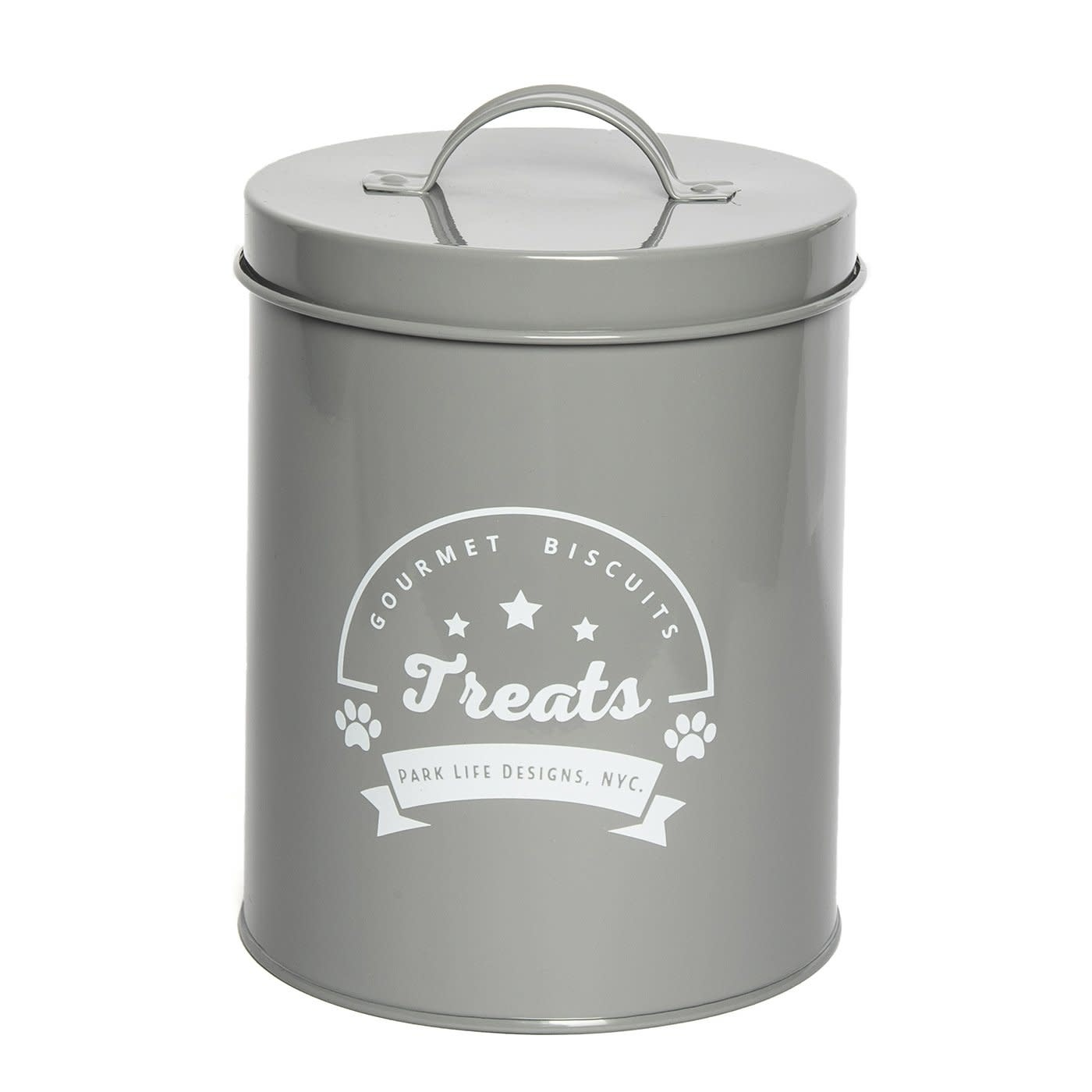 PLD Gourmet Biscuits Grey Tin