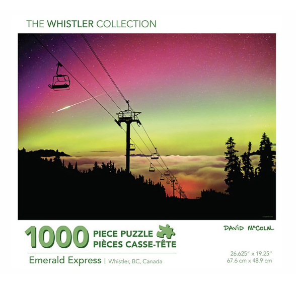 David McColm Emerald Express Puzzle