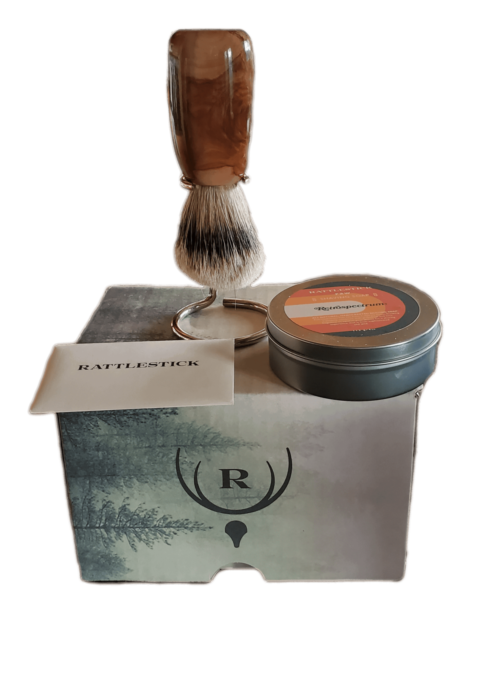 Rattlestick Rattlestick Discover the Ritual - Brush, Stand, Soap